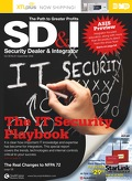 Cover September Issue of Security Dealer & Integrator